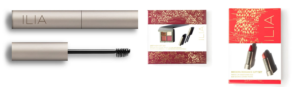 Ilia Beauty Essential Brow Natural Volumizing Brow Gel and Holiday Gift Sets review