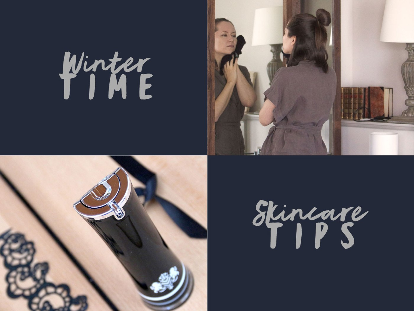 Winter Update: 5 Effective Skincare Tweaks For Colder Days (No New Products Needed!) Here: Vestige Verdant oil serum, oil cleansing the face