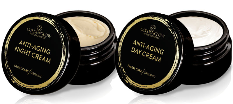 New: Goldenglow Anti-Aging Day & Night Creams