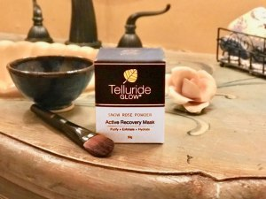 New: Telluride Glow: Snow Rose Powder (Active Recovery Mask)
