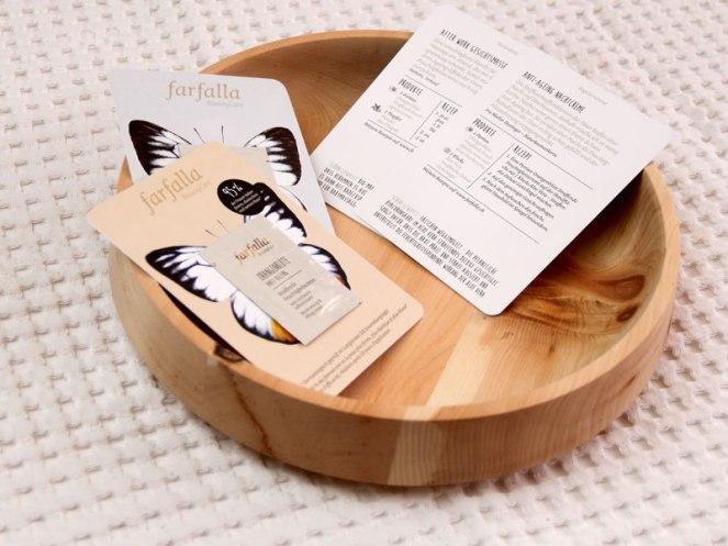 Farfalla's Recipe Card: Detox