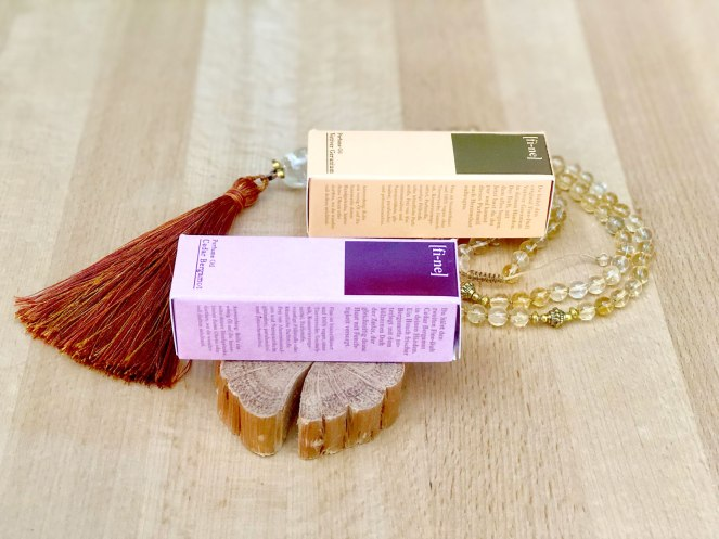 Review: Cedar Bergamot and Vetiver Geranium perfume oils by Fine