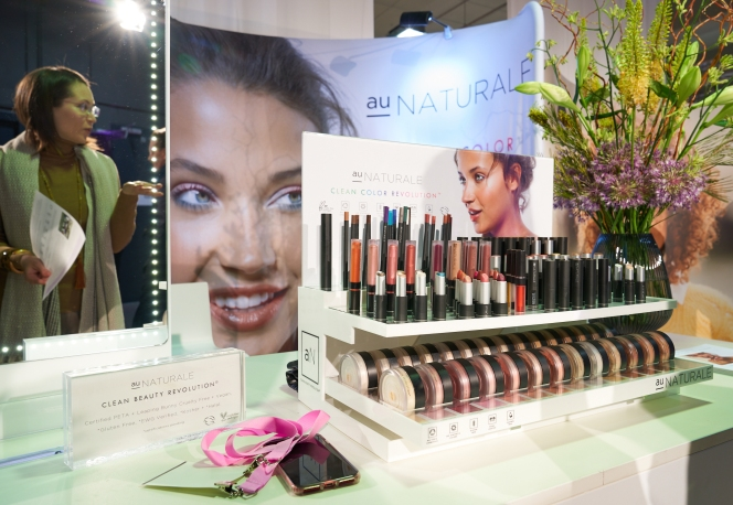 Au Naturale display, IBE Berlin: Gorgeous colours, great payoff, delighful textures