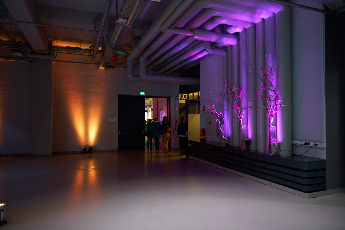 Visitors entering IBE Berlin 2019