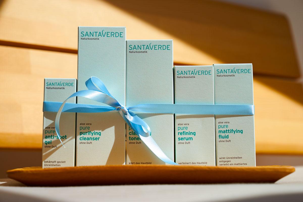 Santaverde PURE aloe vera based natural and organic skincare