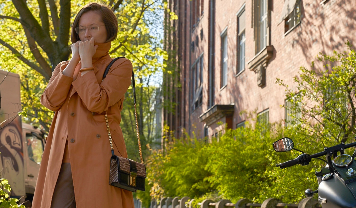 Fair Fashion Outfit: A Trench Coat The Colour Of Sunset