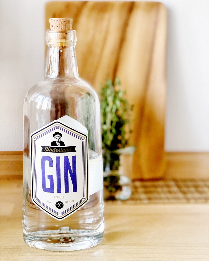 Hinterland Gin for the Apple Thyme Gin Tonic
