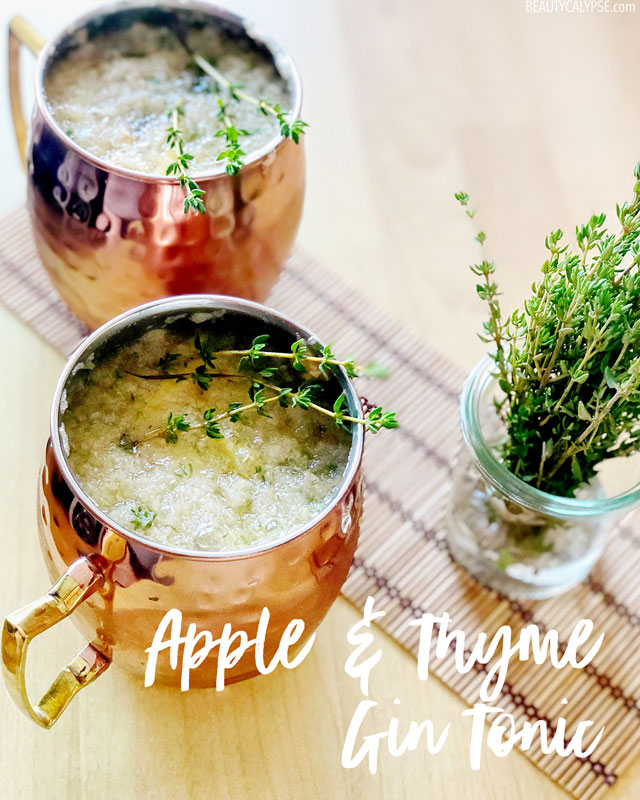 Apple & Thyme Gin Tonic Recipe
